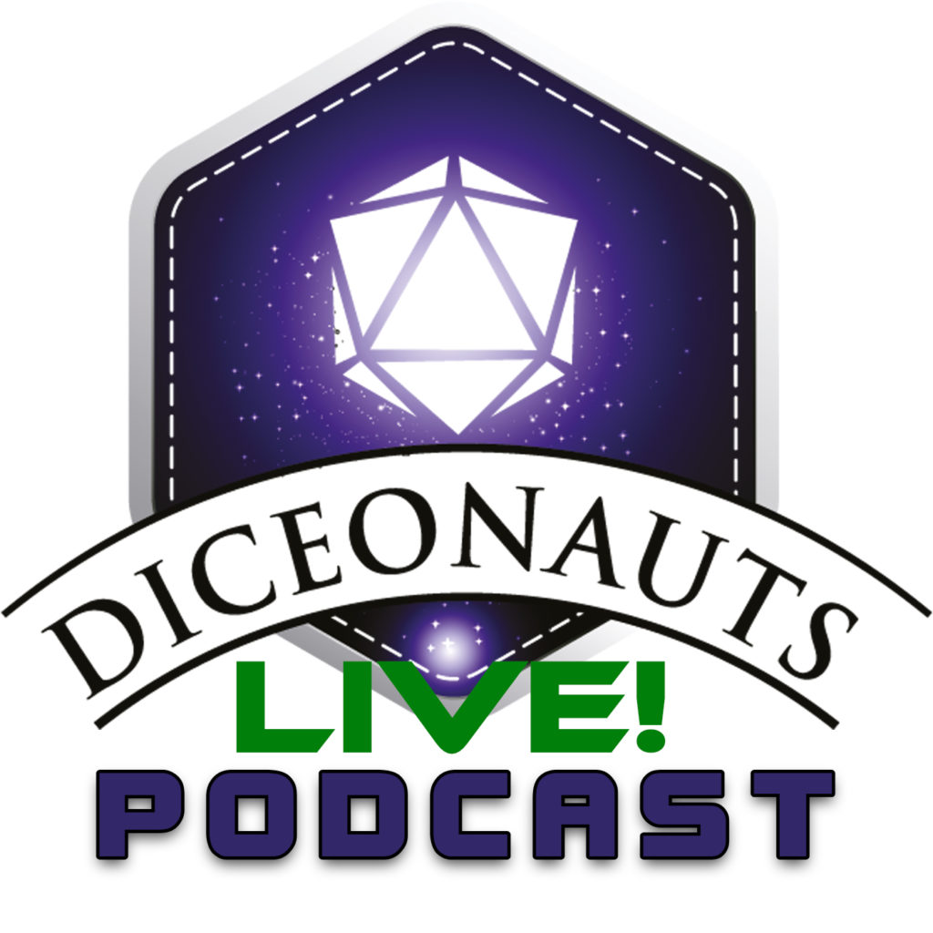 Diceonauts Logo des Livepodcasts